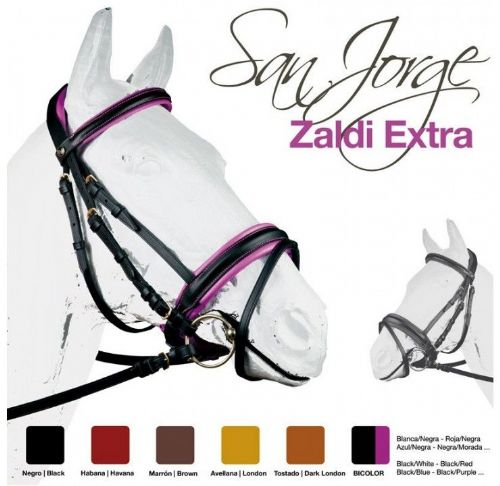 San Jorge competition single bridle by Zaldi